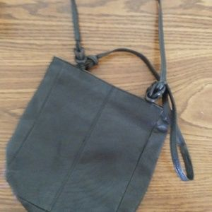 100% leather purse